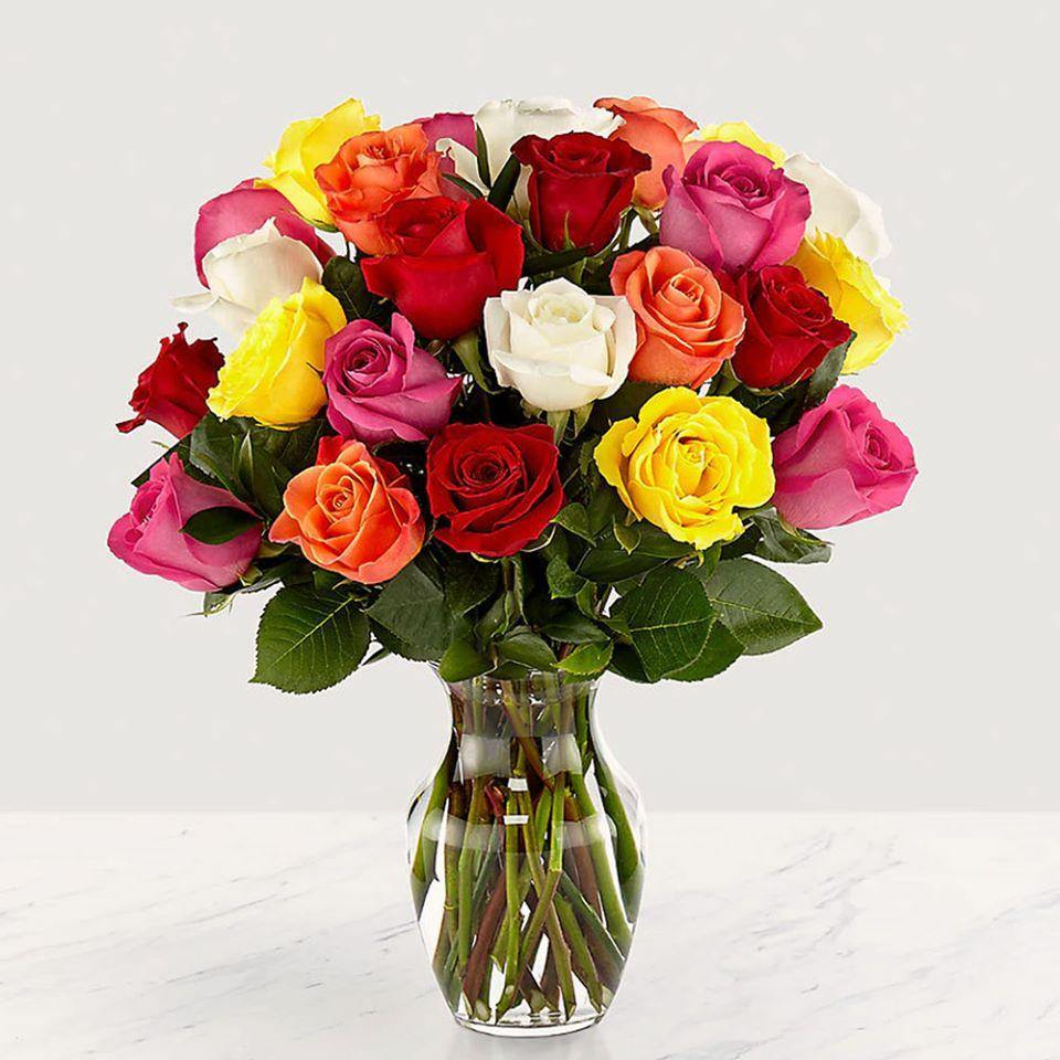 Flowers Mixed Roses Monthly Subscription Box (Fortnightly)