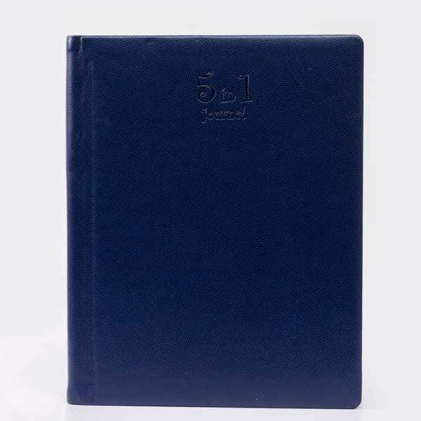 Blue Personalised 5in1 A5 Journal