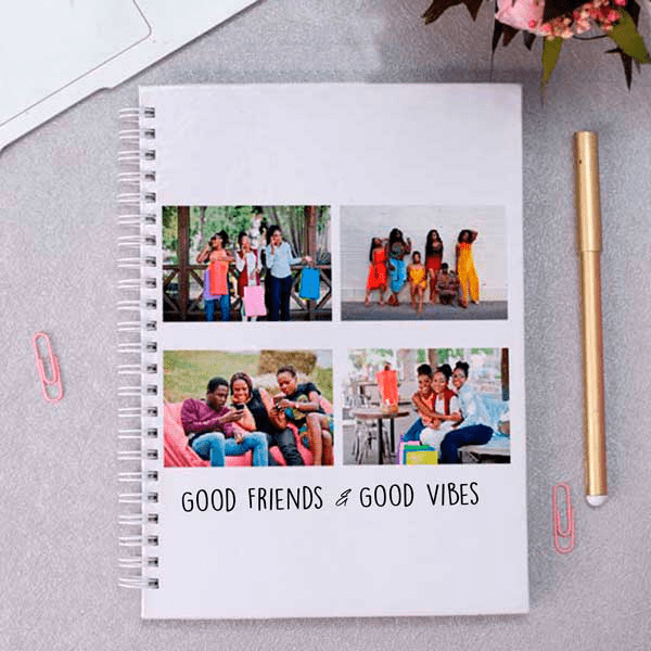 Personalised A5 Photo Upload Notebook