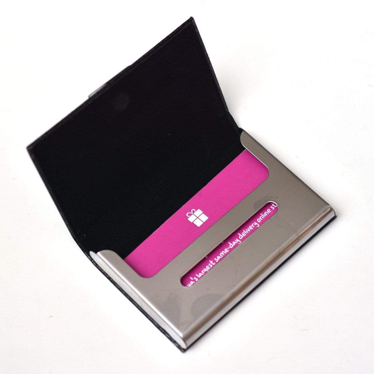 Card Holder Personalised Business Card Holder
