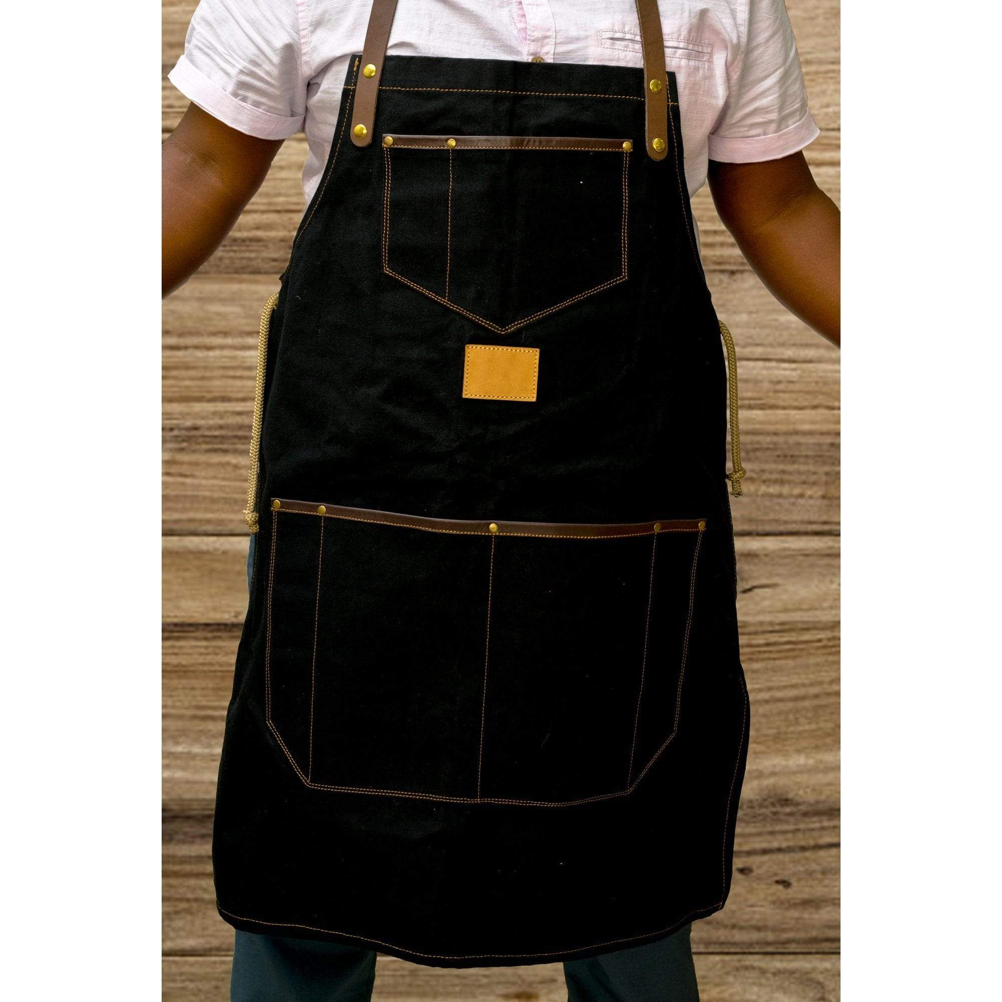 Personalised Canvas Aprons