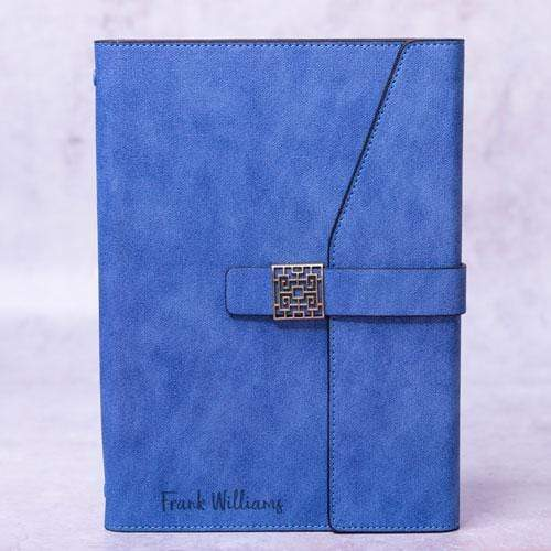 Notebooks Personalised Chelsea Blue Notebook