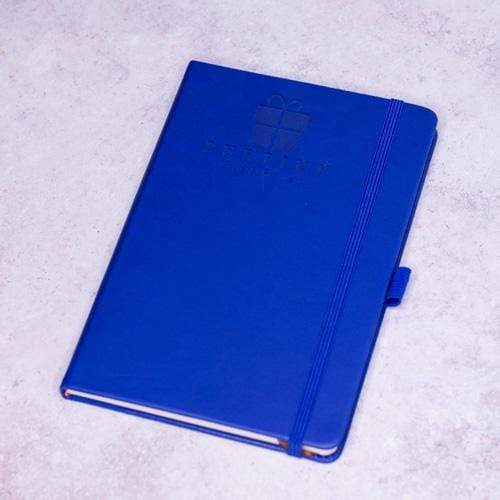 Notebooks Personalised Hana Navy Notebook, A5