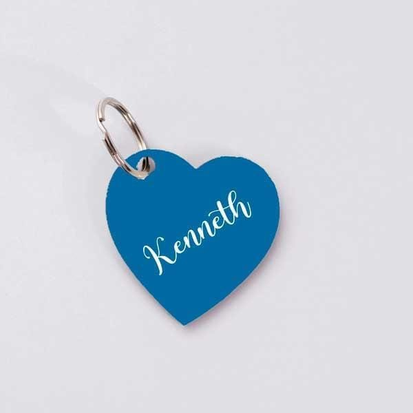 Personalised Key Chain - Blue