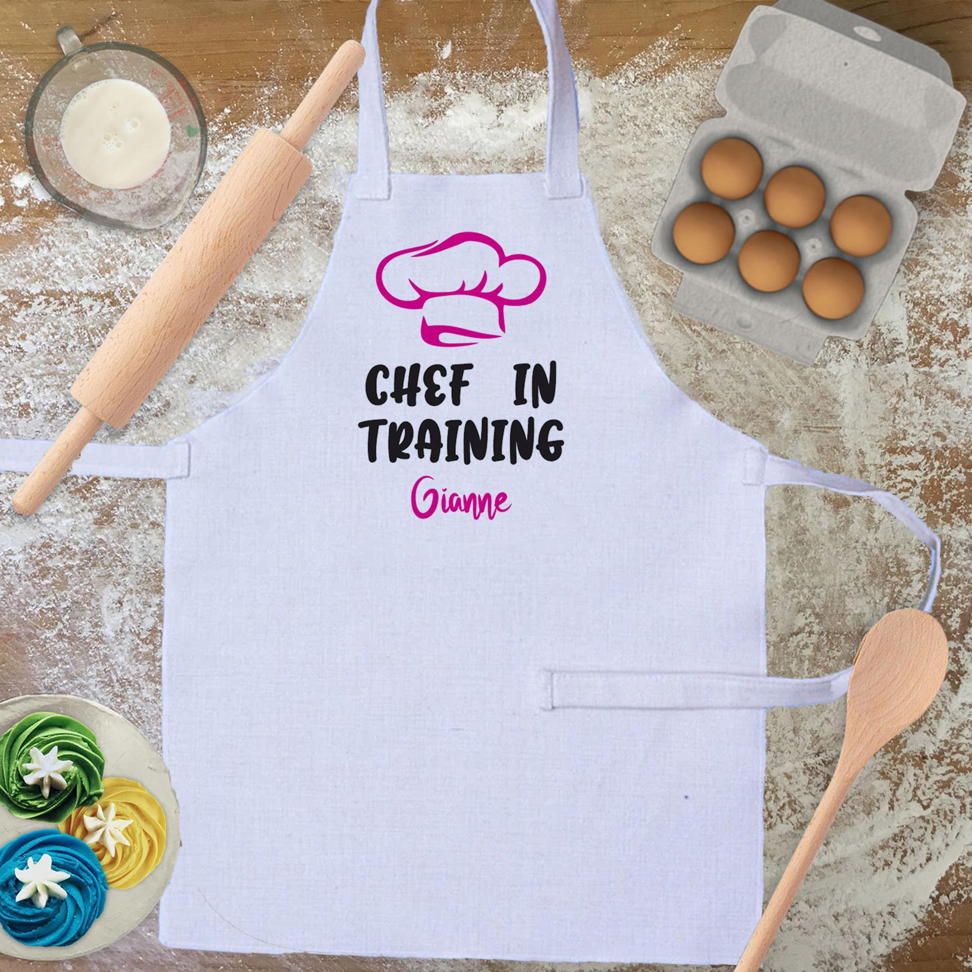 Apron Personalised Kids Apron - Chef in Training