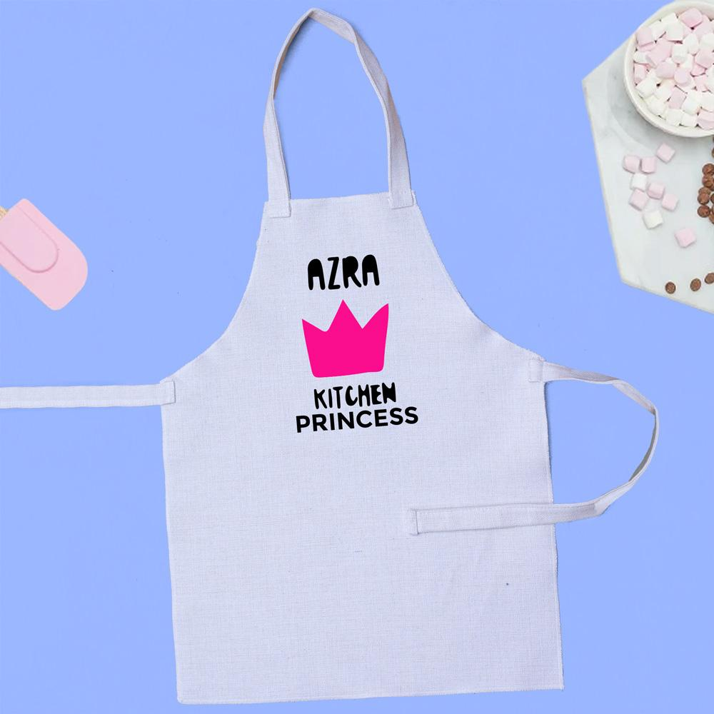 Apron Personalised Kids Apron - Kitchen Princess