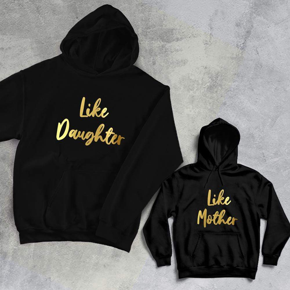 Hoodie Personalised Mummy and Me Hoodies