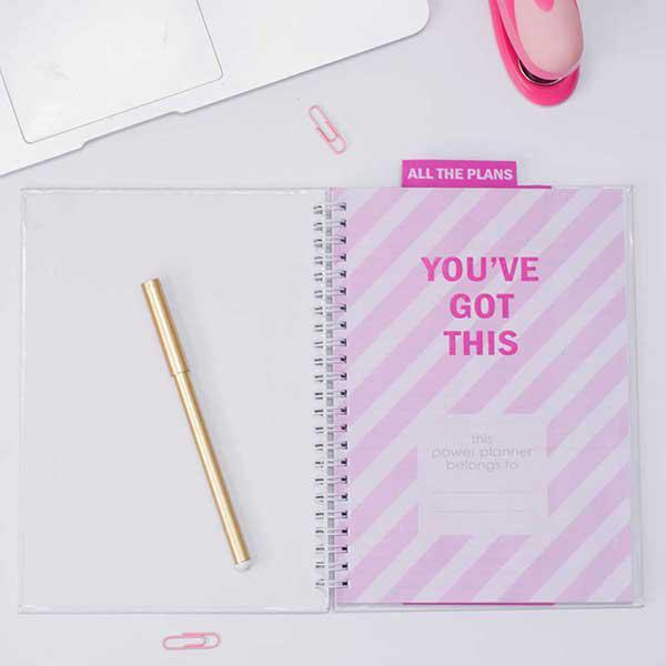 Personalised Planner - Big Heart