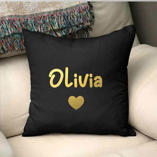 Personalised Throw Pillow - Name
