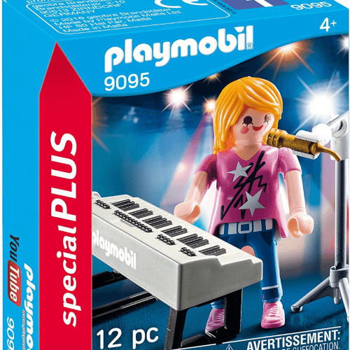 Toy Playmobil Singer with Keyboard