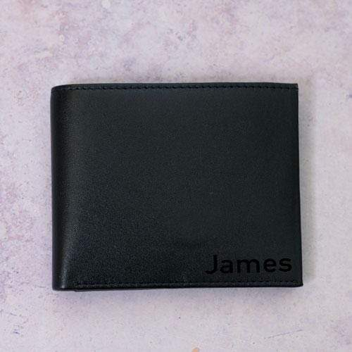 Wallet RFID Protected PU Leather Wallet
