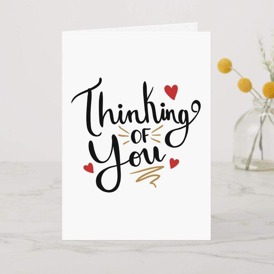 AddOns Thinking of You A6 Card