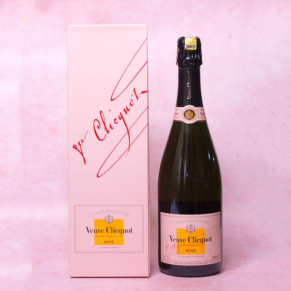 alcohol Veuve Clicquot Rose Champagne, 750ml