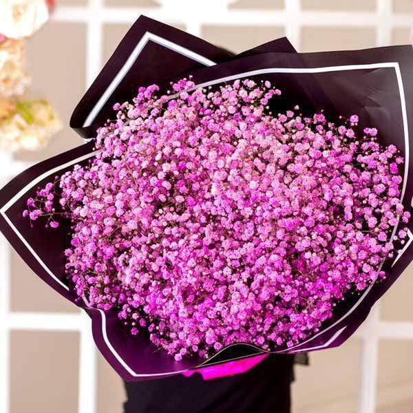 Wonder Pink Baby's Breath Bouquet