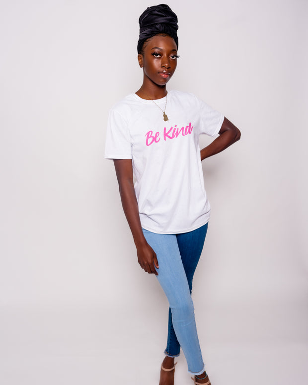 "Abrantie & Signora ""Be Kind"" Pink Edition Shirt"