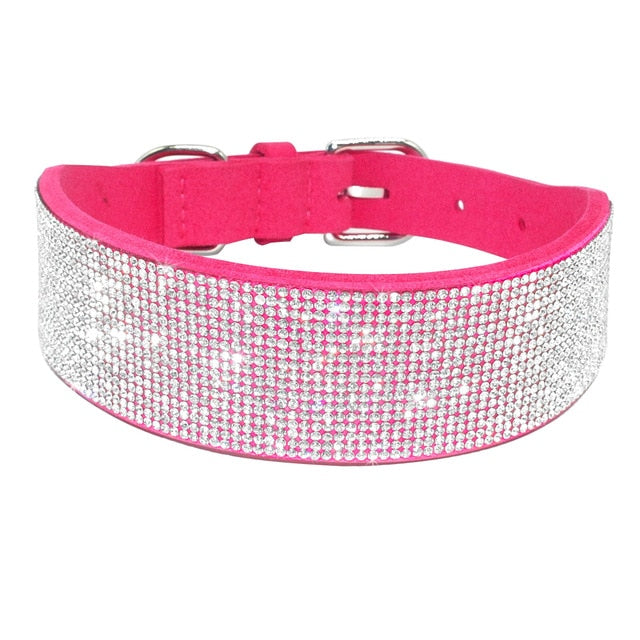 Bling Rhinestone Collar for Dogs and Cats