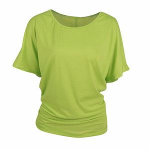 Womens t shirt plus size for running jogging or  yoga. - Luxury Lemon