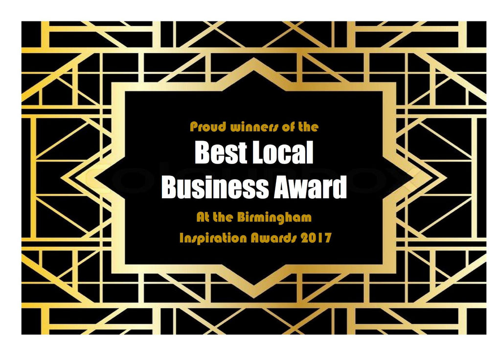 Thrift Vintage Interiors wins Best Local Business Award