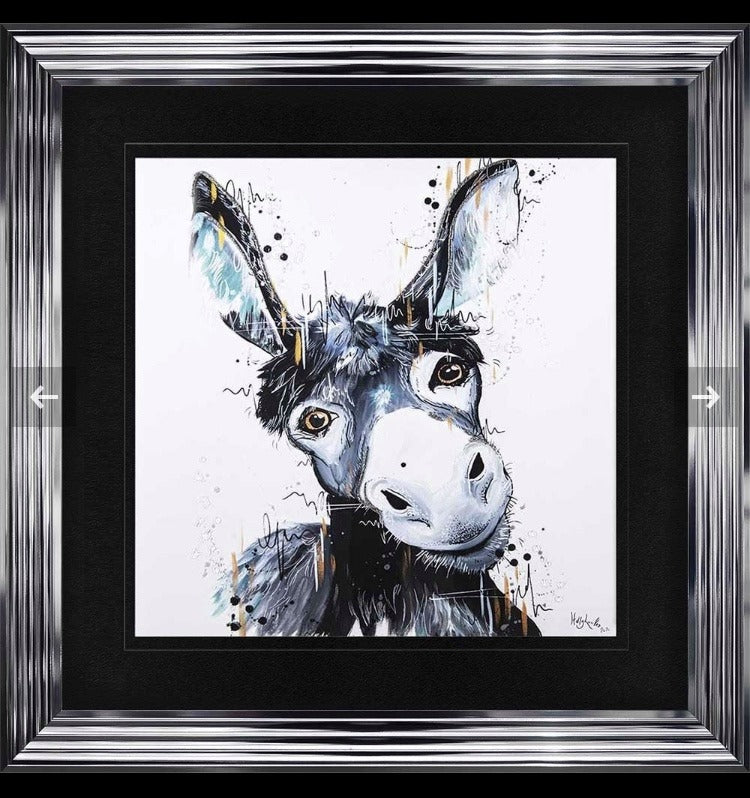 Donkey Liquid 3D Art Handmade Picture