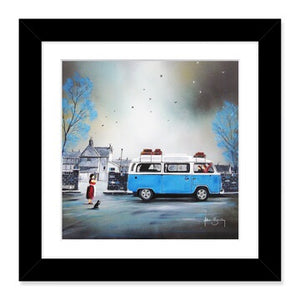 VW Volkswagen Camper Days - Adam Barsby Art Picture