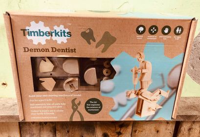 timberkits timber kits demon dentist mechanical moving model