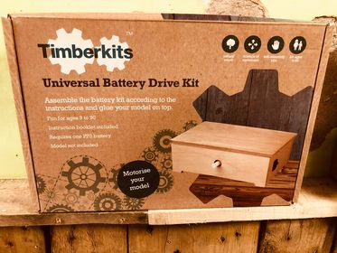timberkits timber kits battery pack mechanical moving model