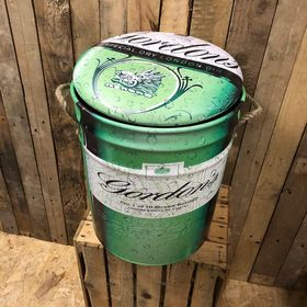 Gordon's gin seat storage stool / tub / barrel seating