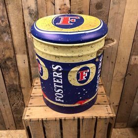 Fosters storage stool / tub / barrel seating
