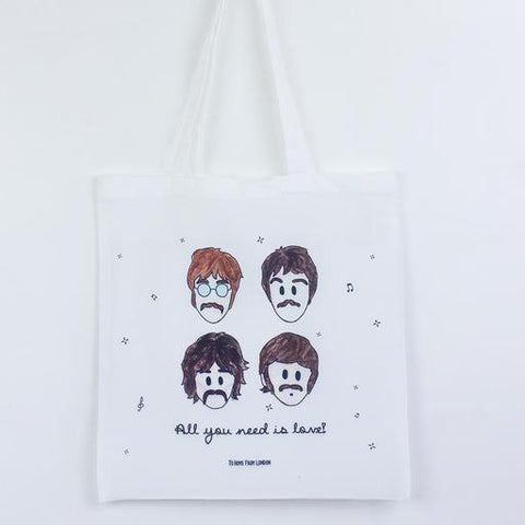 The Beatles Eco Tote Bag