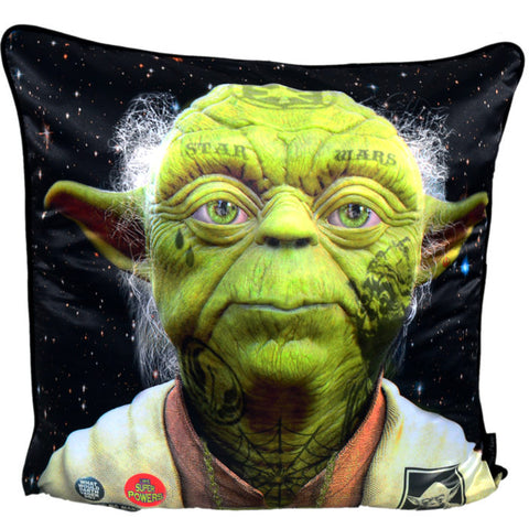Dirty Hans Star Wars Yoda Filled Cushion