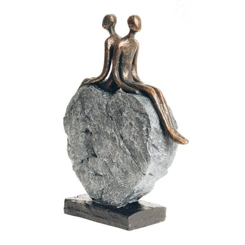 Couples Heart Statue