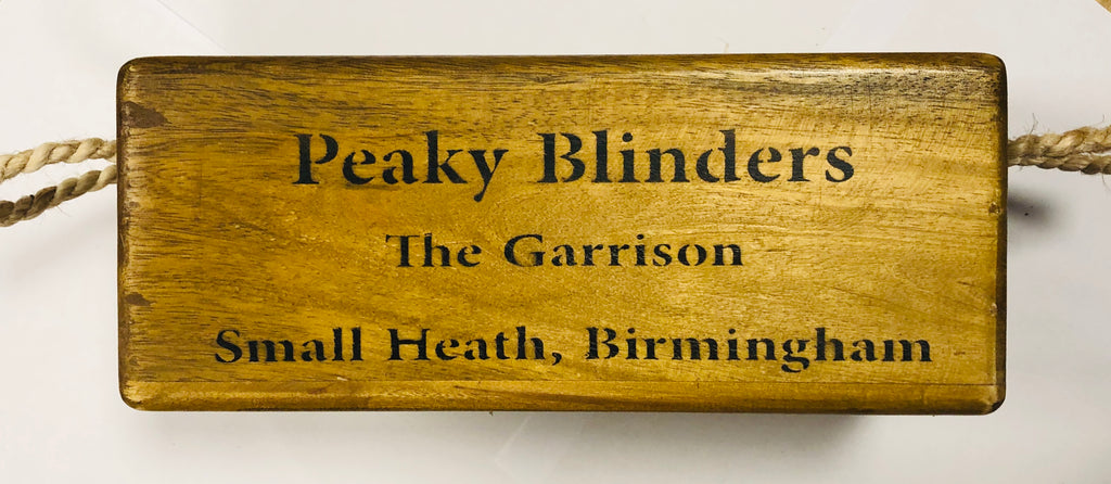 Peaky Blinders wooden box