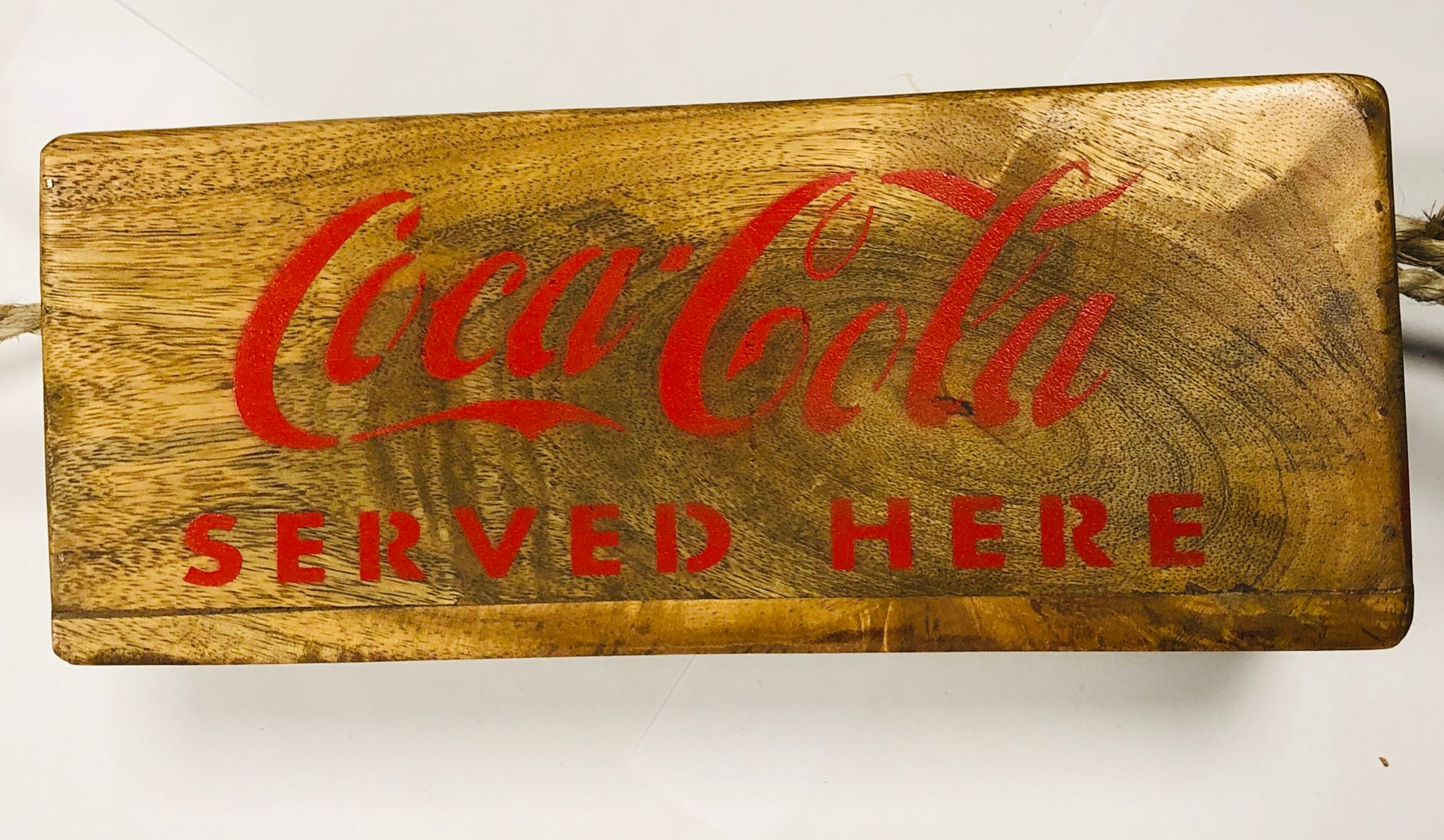 Coca-Cola wooden box