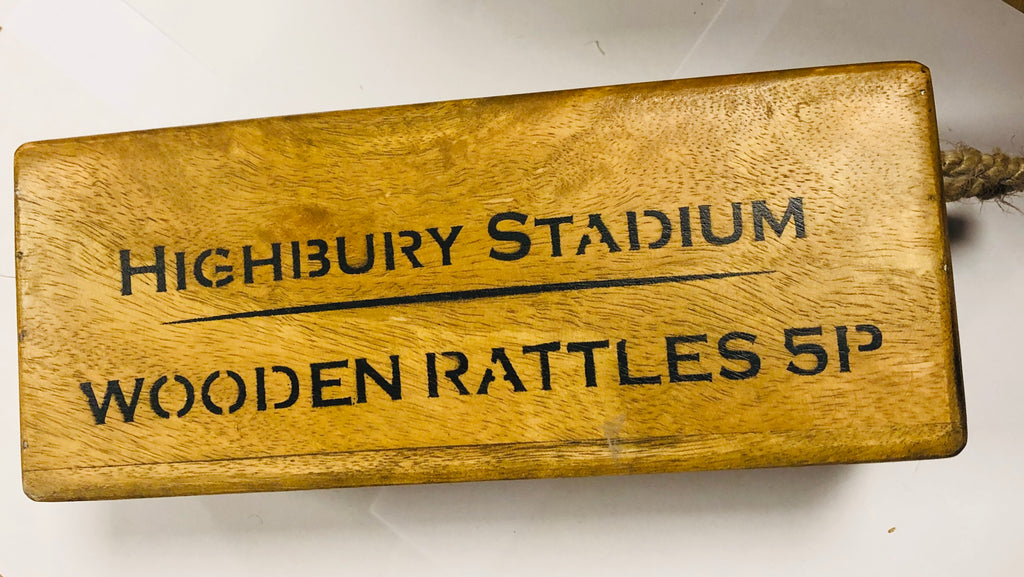 Highbury Stadium wooden box