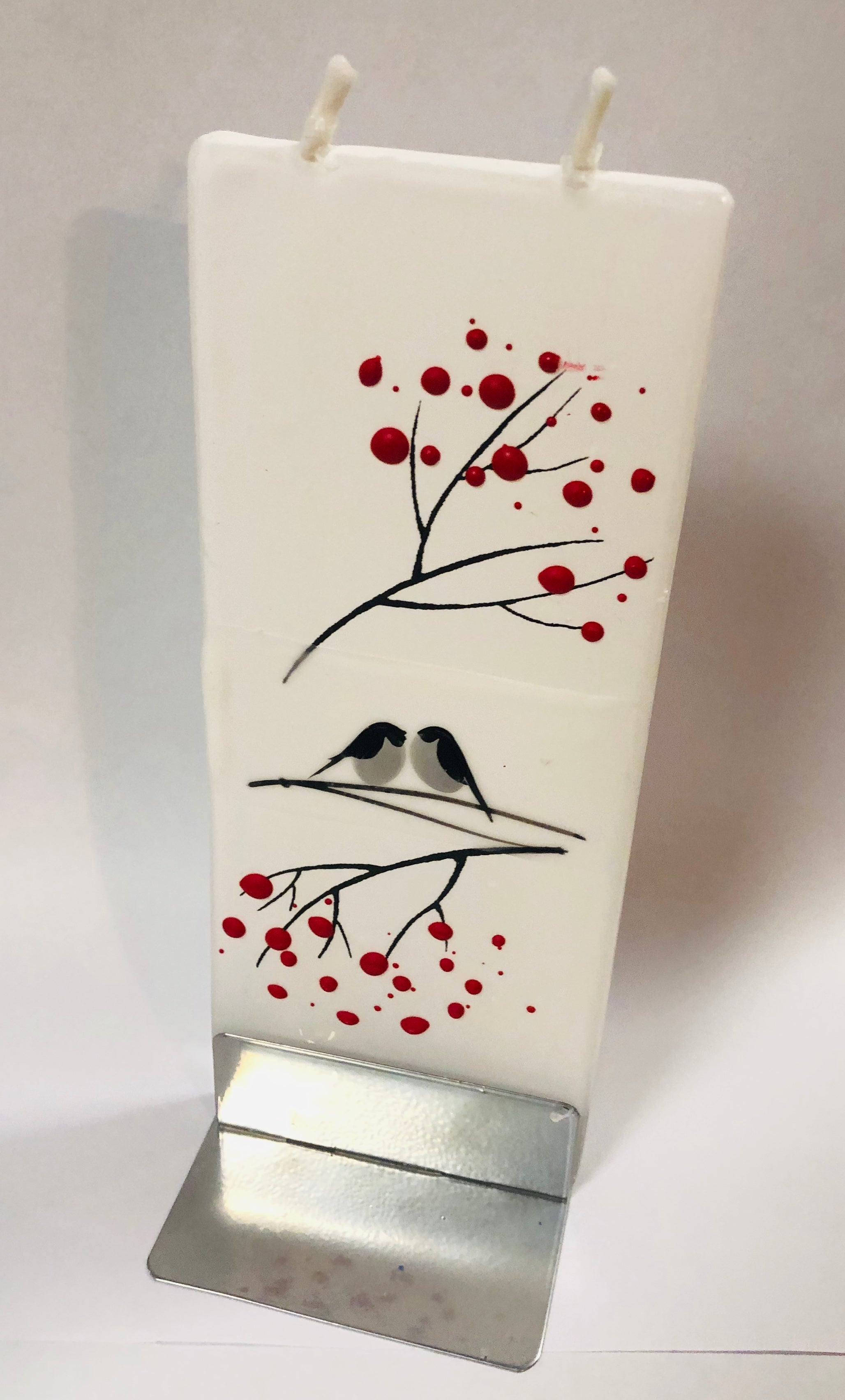 Love Birds Flatyz Handmade Decorative Flat Candles