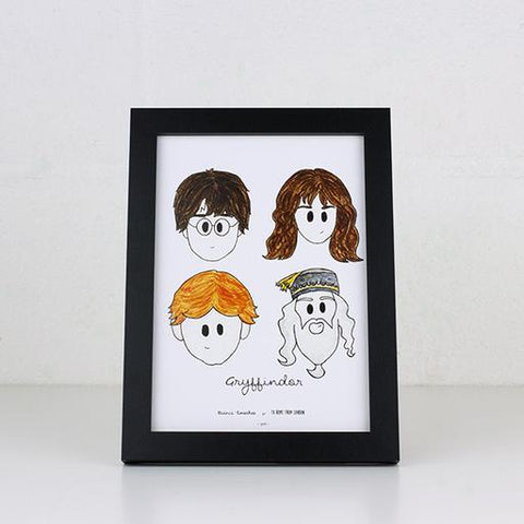 UK Ikons Print - Harry Potter