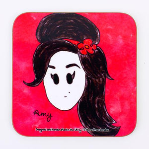 amy winehouse coaster magnet