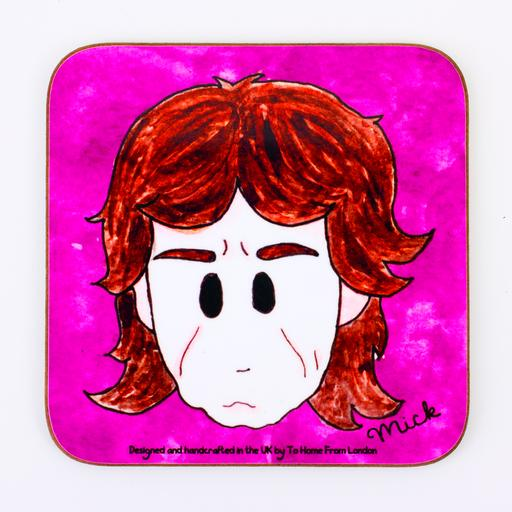 Rolling Stones mick Jagger coaster magnet