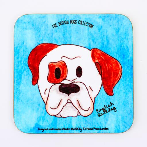 English Bulldog Coaster Magnet