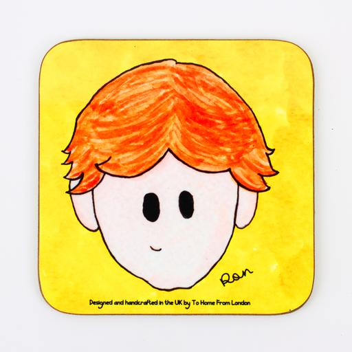 Ron Weasley Harry Potter coaster magnet