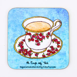 Cup of Tea Coaster Magnet