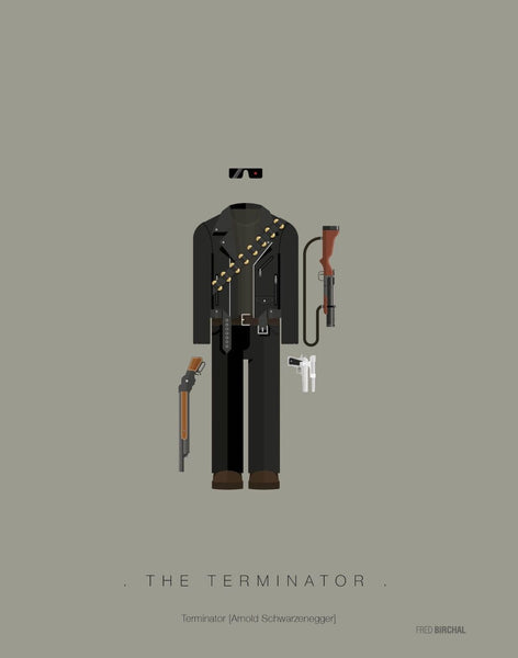 Fred Birchal Costume Art Print - Movies - Various