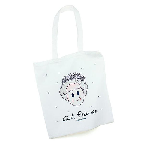 The Queen Girl Power Eco Tote Bag