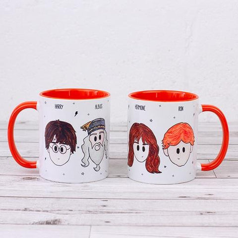 Quality UK Made Mug - UK Ikons Range - Harry Potter