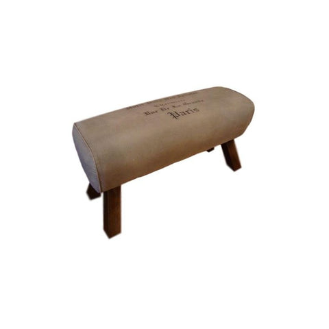 Canvas Bench Seat - Pommel Horse Style