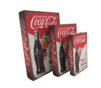 Coca-Cola Secret Book Boxes storage