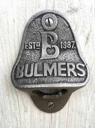 Bulmers Cider Wall Mounted Bottle Opener