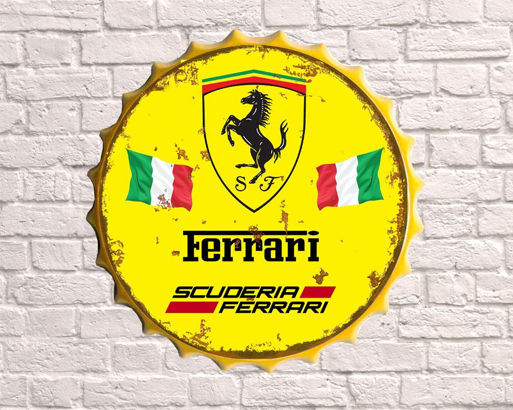Ferrari large giant Bottle top cap 30cm