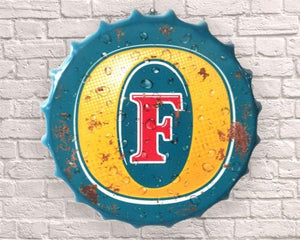 Fosters Beer giant Bottle top cap 40cm