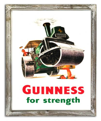 Framed Guinness Iconic Poster Art